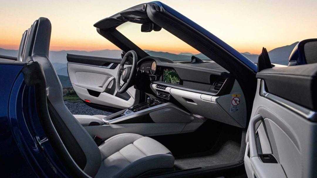 Intérieur Porsche 911 992 Cabriolet