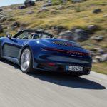Arrière Porsche 911 992 Cabriolet