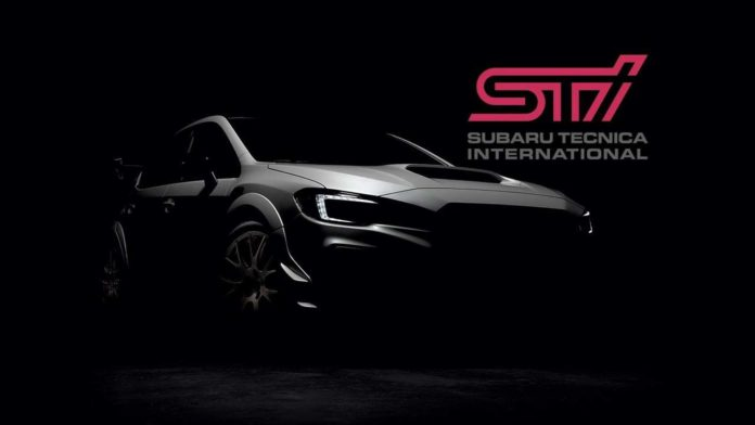 2020 Subaru WRX STI S209