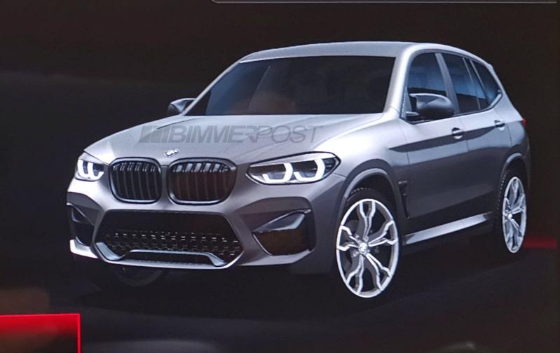 BMW X3 M (2019) : salon de Genève 2019