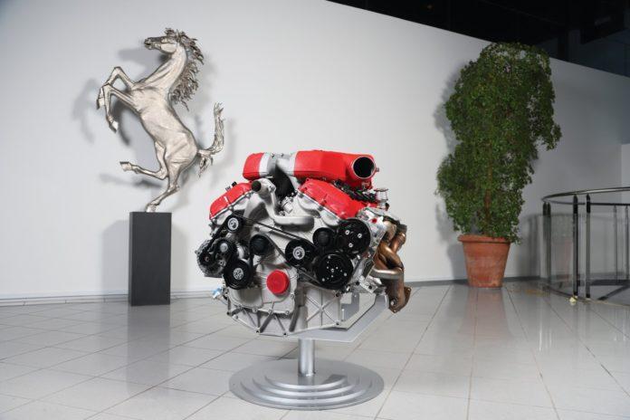 Moteur Ferrari FF