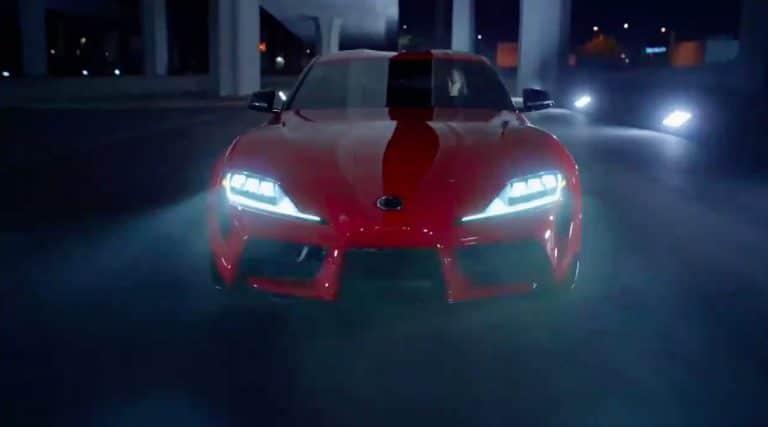 Toyota Supra (2019) de face