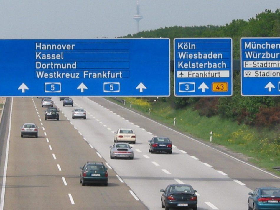 Autoroute illimitée Allemagne