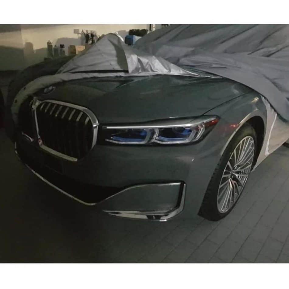 BMW Série 7 restylée