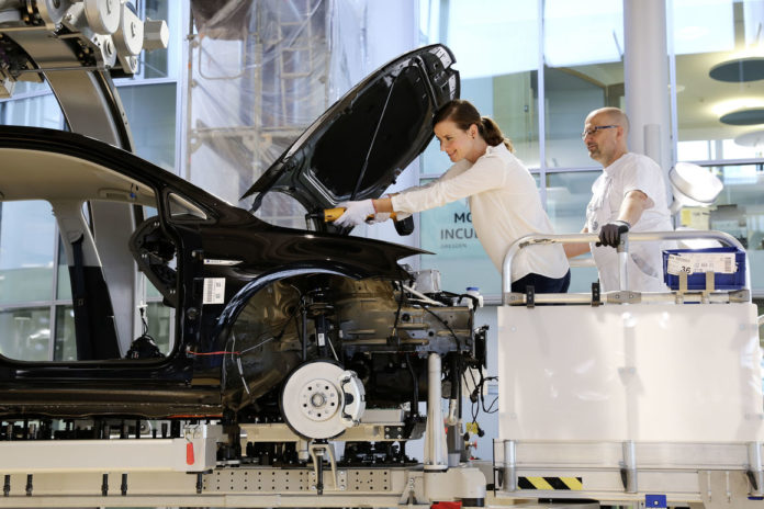 Production Volkswagen e-Golf
