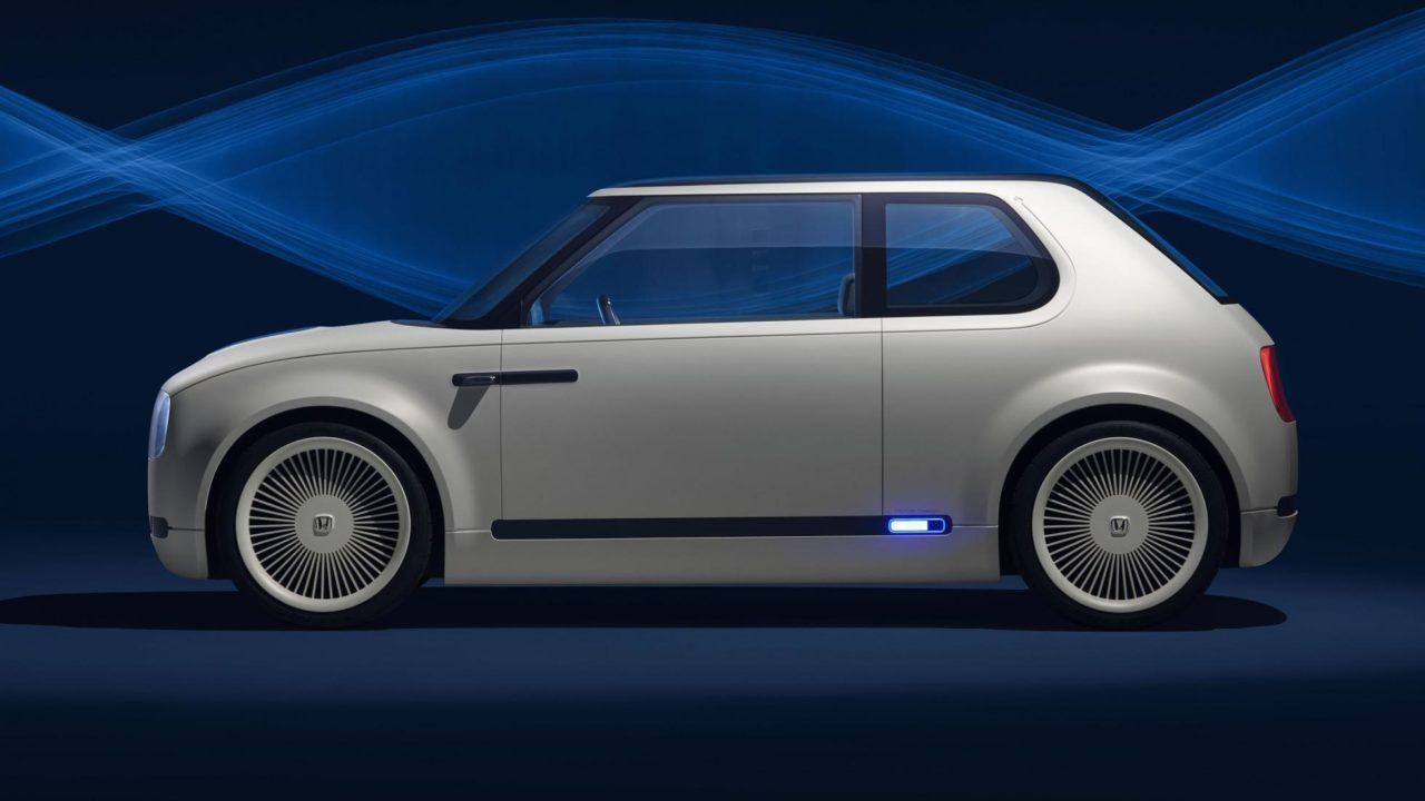Honda Urban EV (2019) de profil