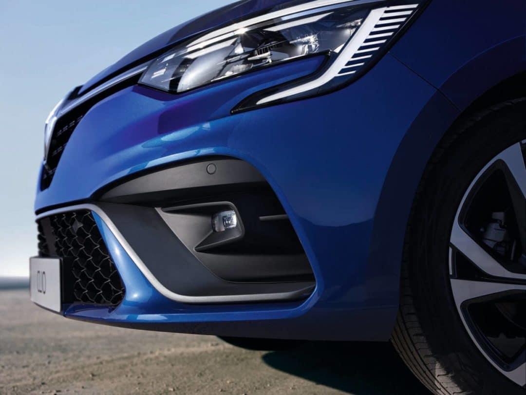 Face avant RS Line Renault Clio 5 (2019)