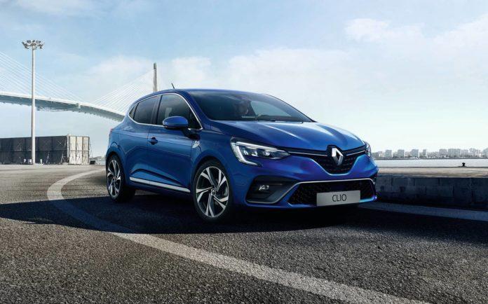 Face avant de la Renault Clio 5 (2019)