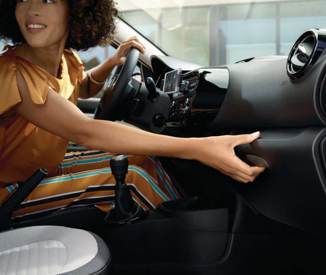 Intérieur de Nouvelle Renault Twingo restylée (2019)