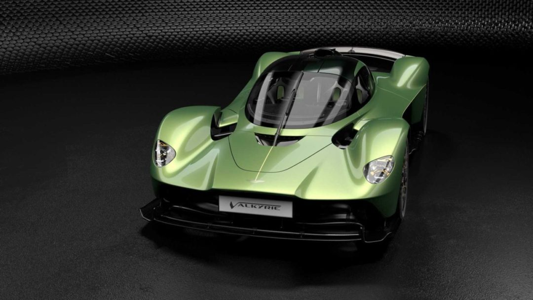 Avant Aston Martin Valkyrie