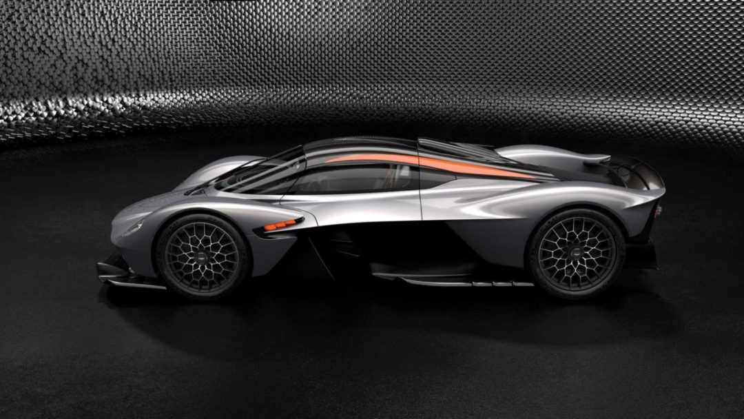 Aston Martin Valkyrie pack AMR Track Performance Silver