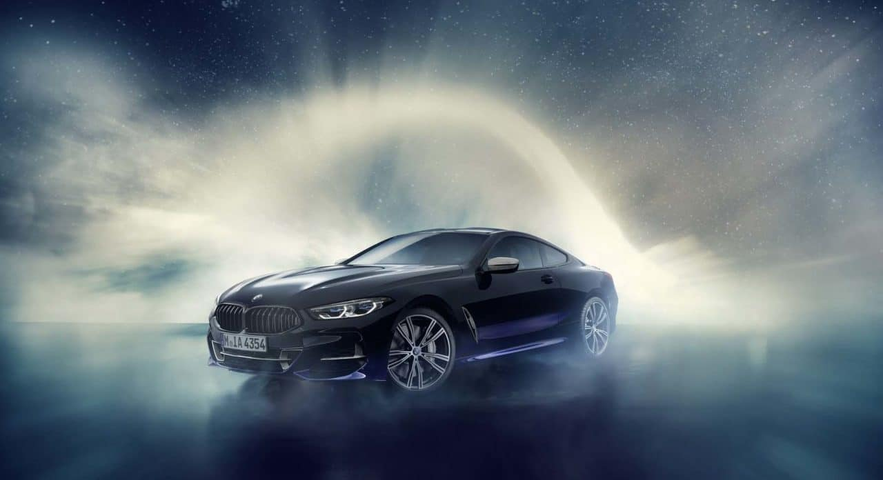 "BMW M850i ""Night Sky"" : composée avec de la météorite"