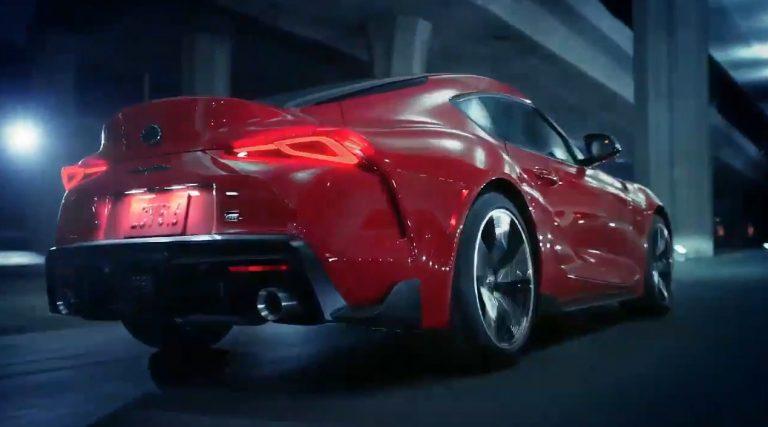Arrière de la Toyota Supra (2019)