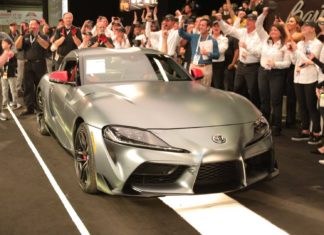 Toyota Supra premier exemplaire
