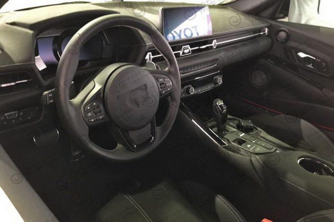 Intérieur de la nouvelle Toyota Supra (A90)