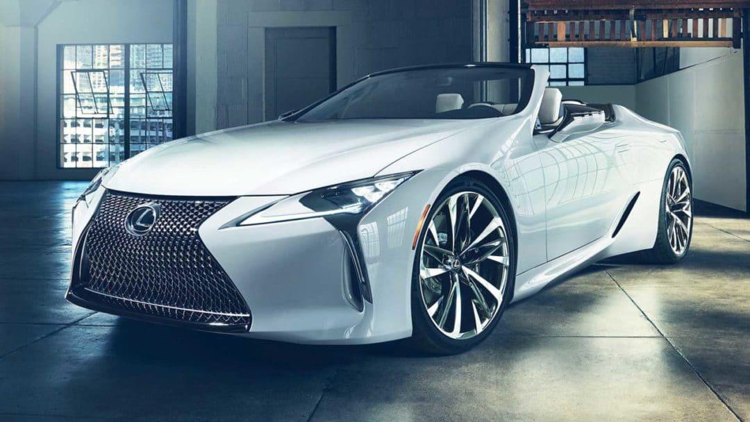 Lexus LC Cabriolet concept