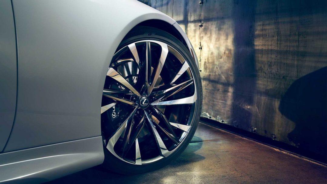 Jantes de la Lexus LC Cabriolet concept