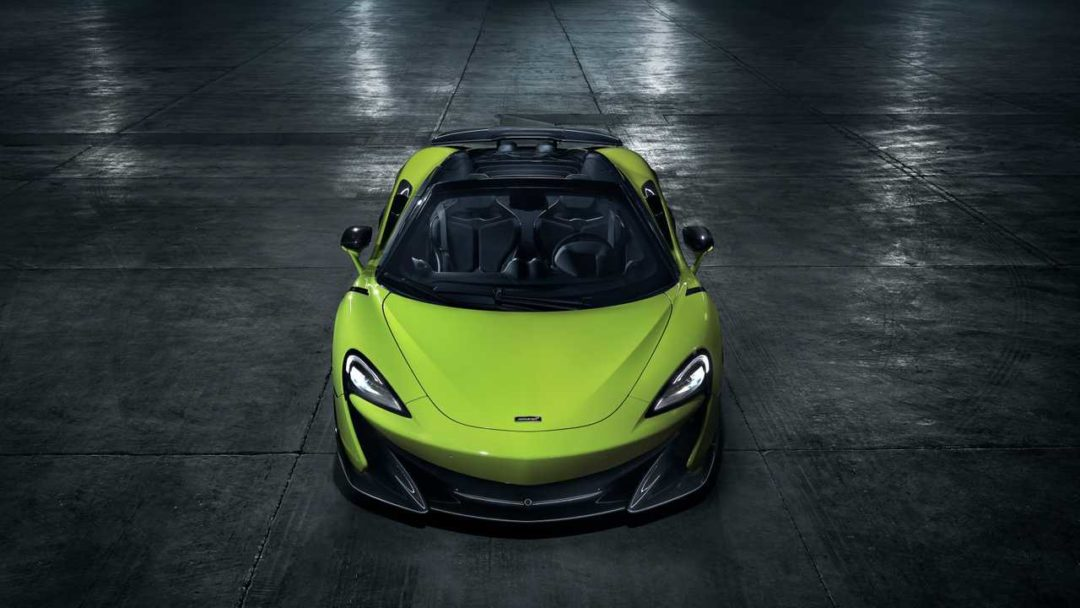 McLaren 600LT Spider (2019) face avant