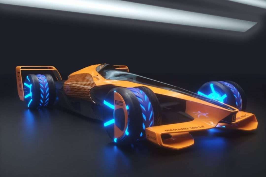 La Formule 1 en 2050 selon McLaren - Monoplace (2)