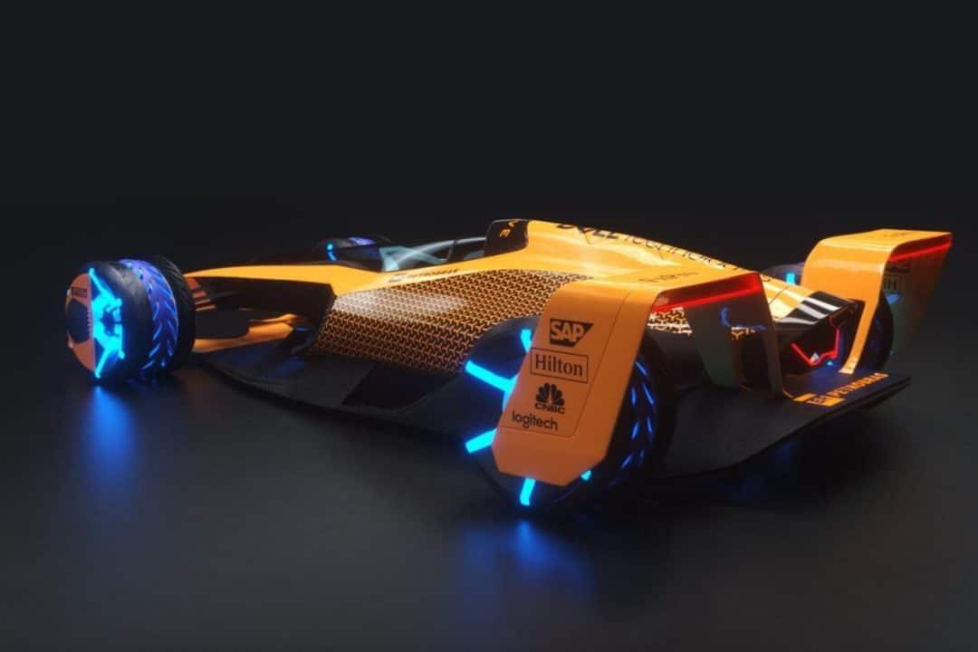 La Formule 1 en 2050 selon McLaren - Monoplace (1)