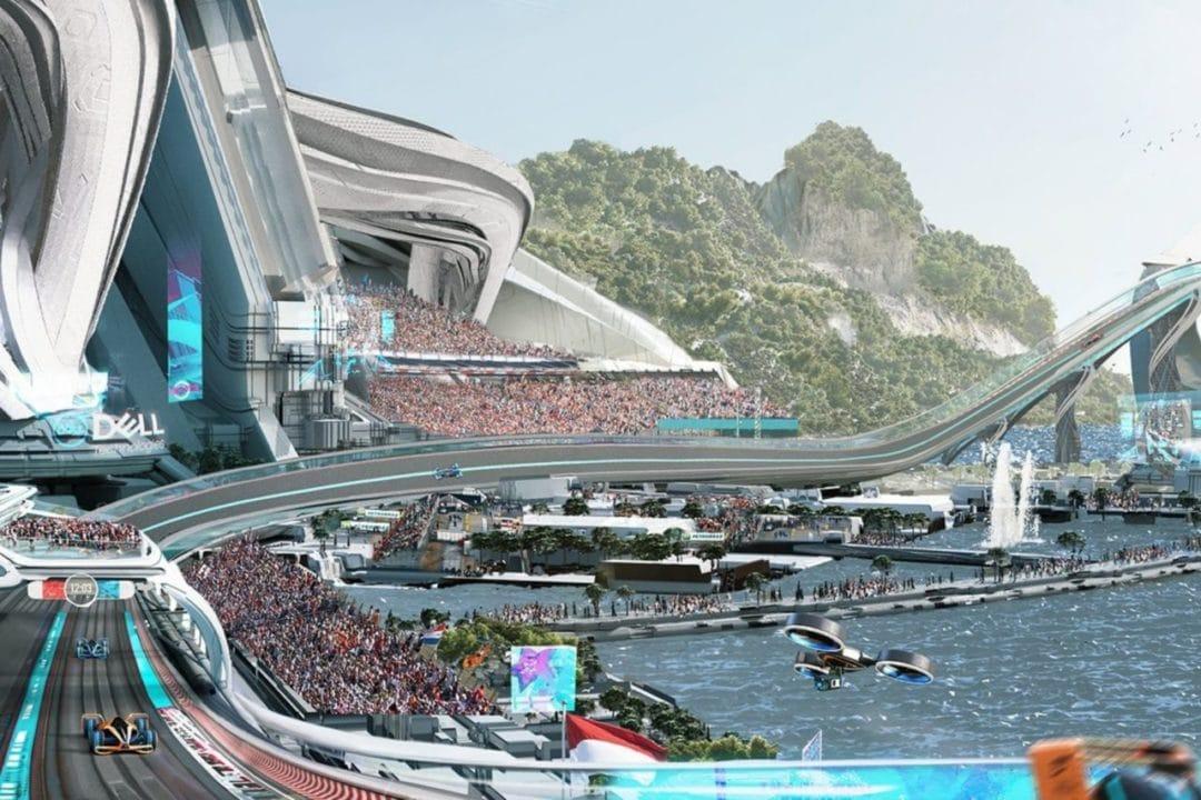 La Formule 1 en 2050 selon McLaren - Public