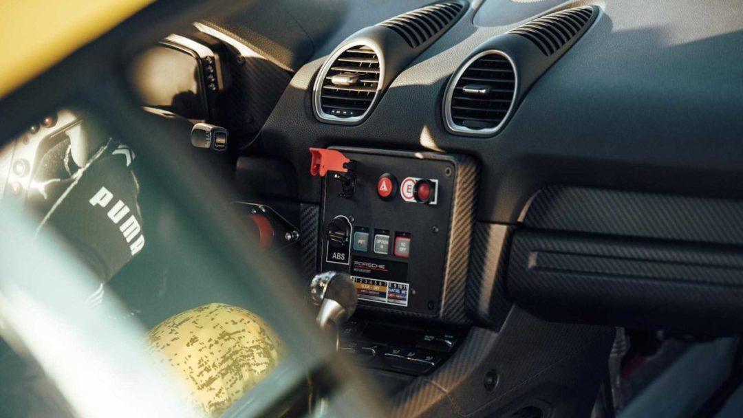 Intérieur Porsche 718 Cayman GT4 Clubsport (2019)