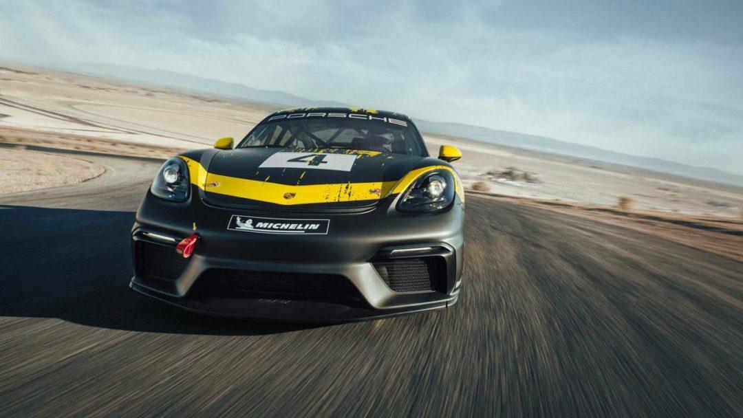 Avant Porsche 718 Cayman GT4 Clubsport (2019)