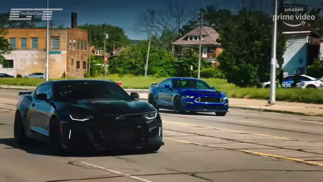 The Grand Tour : Mustang RTR vs Camaro Exorcist