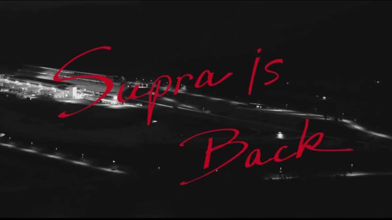 Dernier teaser pour la Toyota Supra (2019)