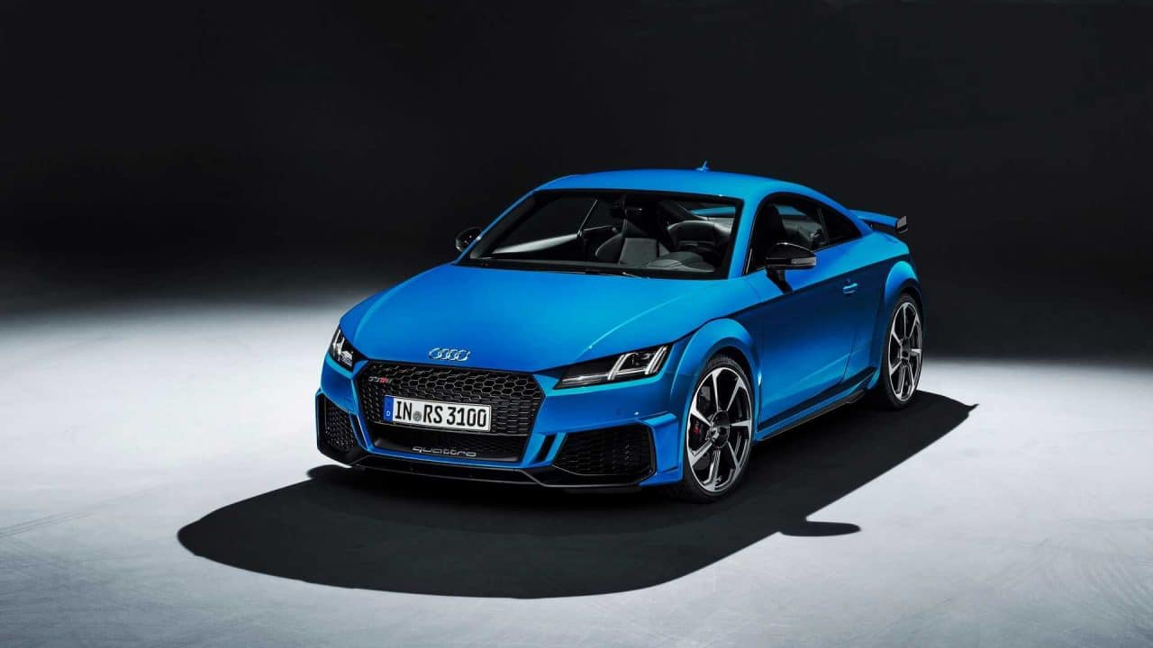 Nouvelle Audi TT RS restylée (2019) : Salon de Genève 2019