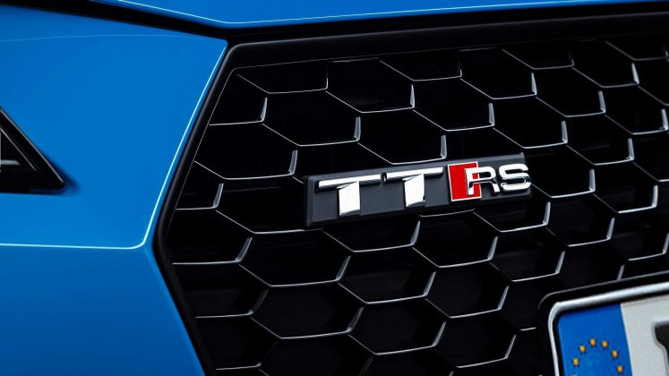 Nouvelle Audi TT RS restylée (2019) - Badge