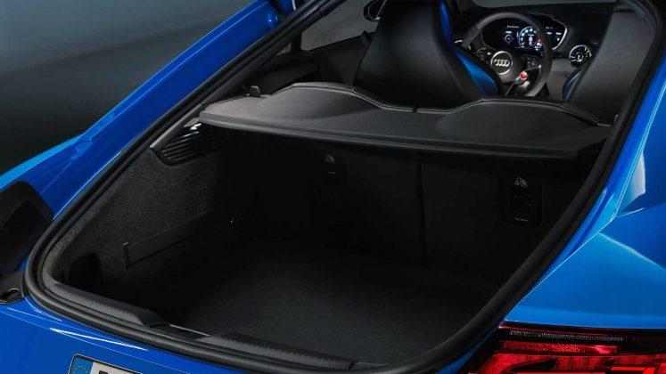Nouvelle Audi TT RS restylée (2019) - Coffre