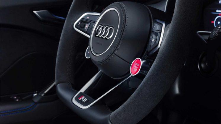 Nouvelle Audi TT RS restylée (2019) - Volant
