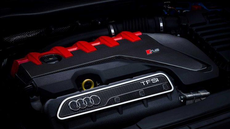 Nouvelle Audi TT RS restylée (2019) - Moteur 2.5 TFSI