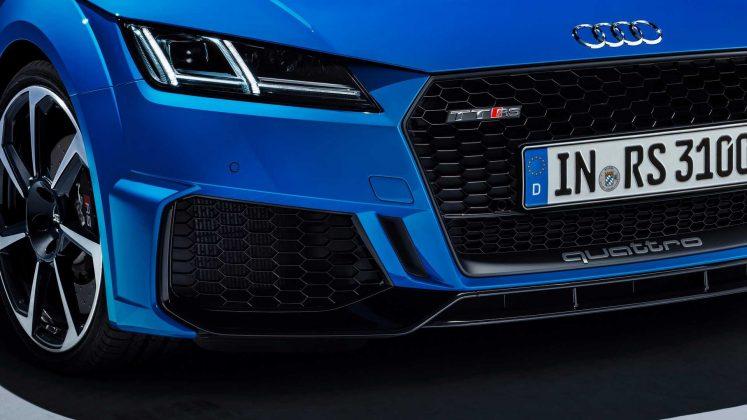 Nouvelle Audi TT RS restylée (2019)