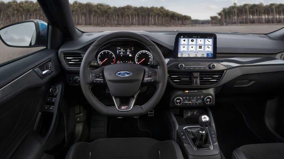 Intérieur Ford Focus ST (2019)