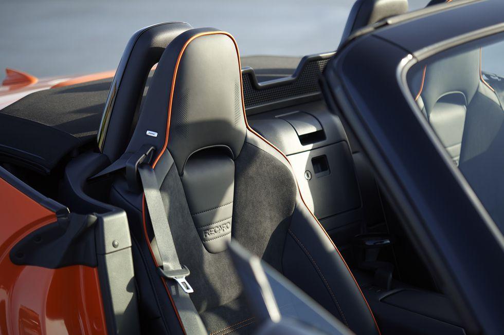 Mazda MX-5 Miata 30e anniversaire - Sièges