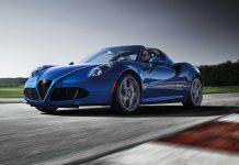 Alfa Romeo 4C Spider Italia (2020)
