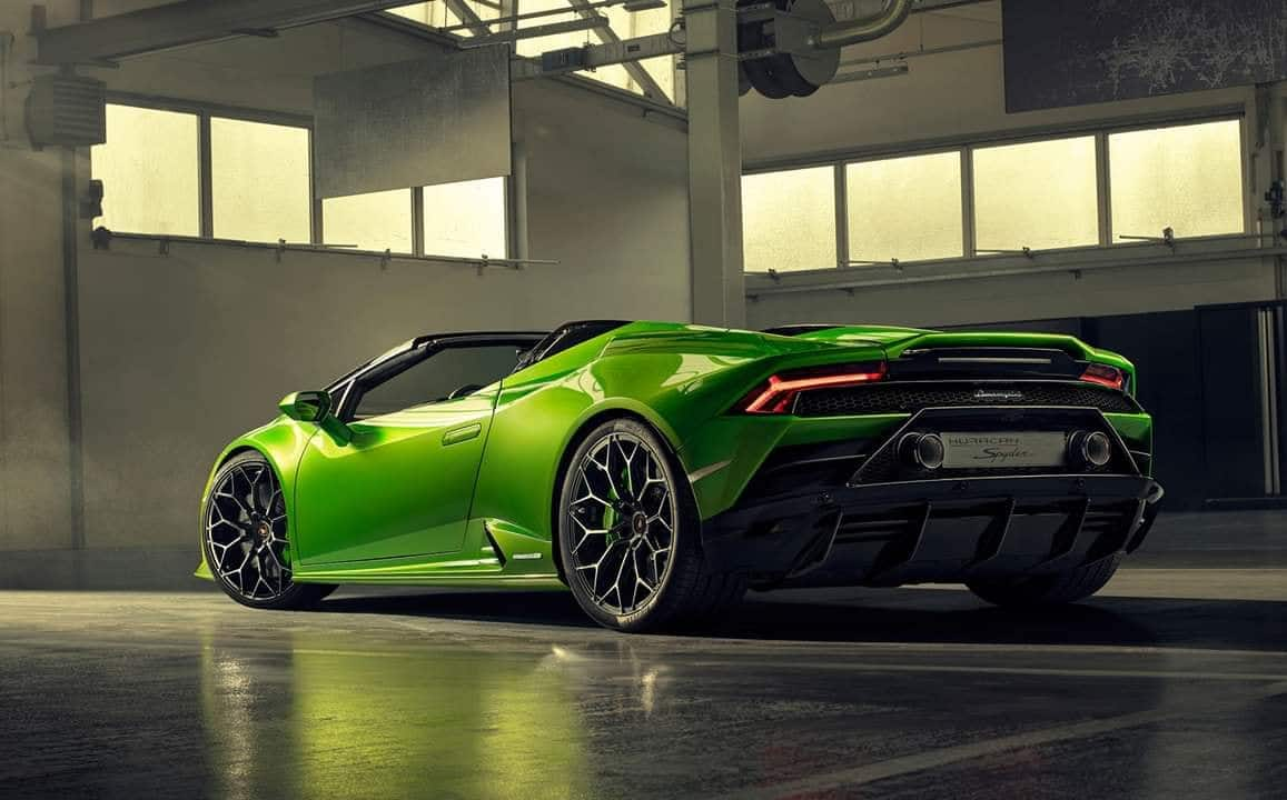 2019 Lamborghini Huracan Evo Spyder