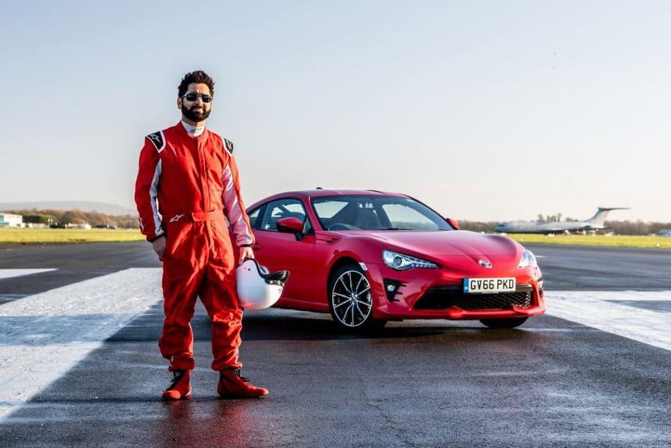 Amit Patel, l'aveugle qui a posté le 9e temps sur le circuit de Top Gear