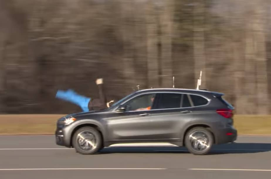 Piéton BMW X1