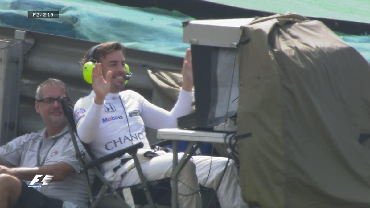 Alonso après un énième dysfonctionnement de son ex Formule 1 profite de la série Netflix