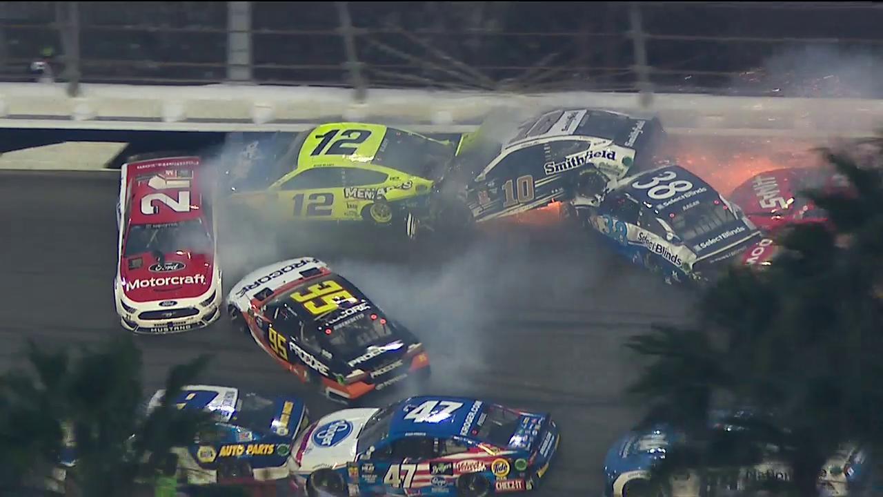 Crash géant en NASCAR ce weekend au Daytona 500
