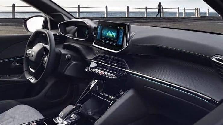 Intérieur de la nouvelle Peugeot 208 (2019)