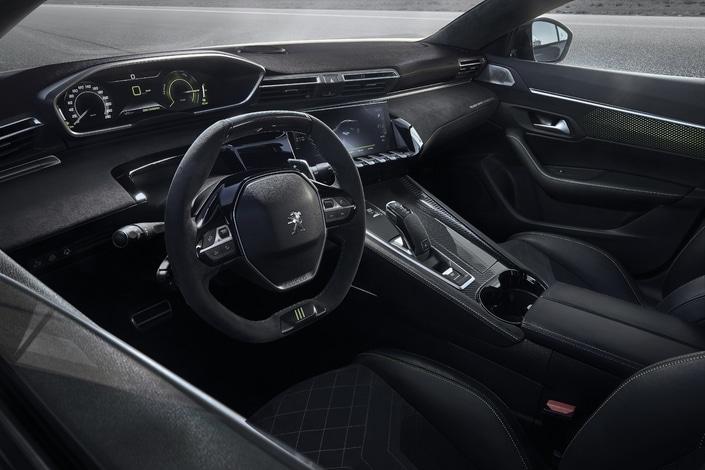 Peugeot 508 Showcar hybride Genève