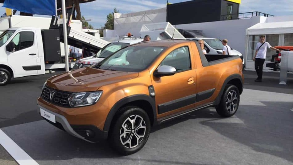 Dacia Duster Pick-up (1)