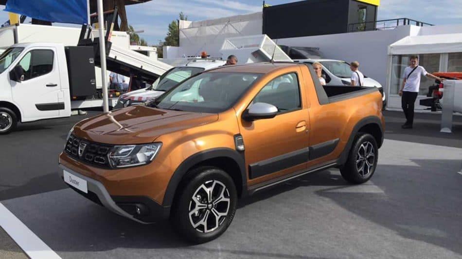 Dacia Duster Pick-up (1)
