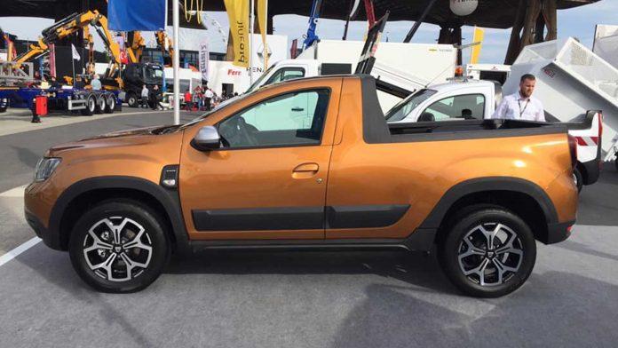 Dacia Duster Pick-up (2)