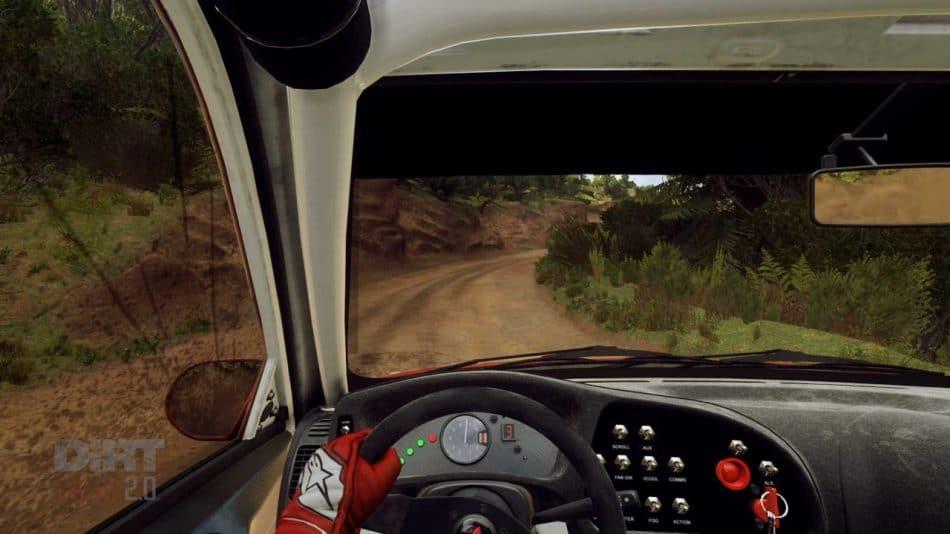 Dirt Rally 2.0 cockpit
