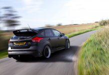Ford Focus RS préparée par Monotune développe 400 ch